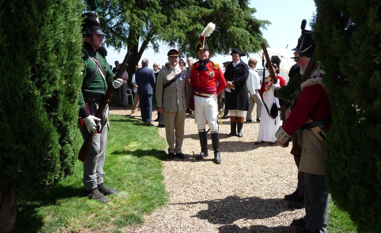 Colonel Nick Lipscombe and 'General Beresford'